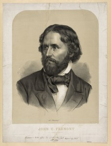 John C. Frémont (Library of Congress Prints and Photograph Collection >>)