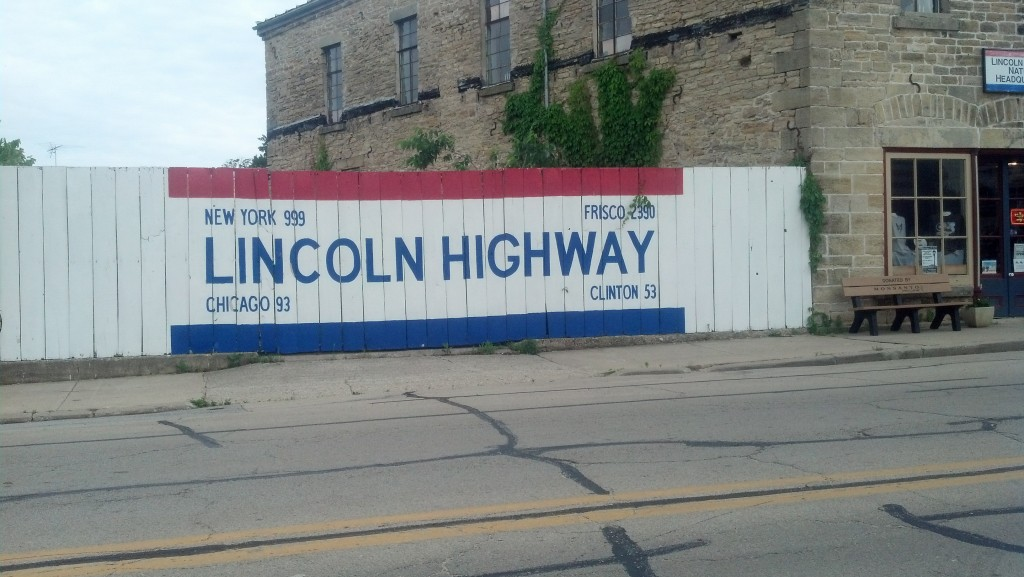 The Lincoln Highway Association Tourism Headquarters is located in Franklin Grove, Ill. (Photo by Michael E. Grass)