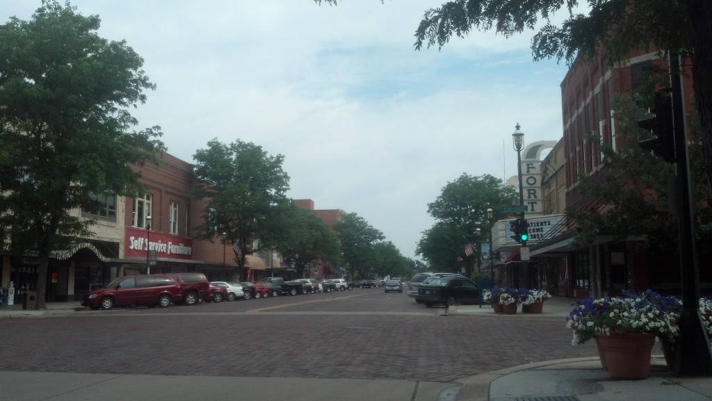 Central Avenue in Kearney, Neb. (Photo by Michael E. Grass)