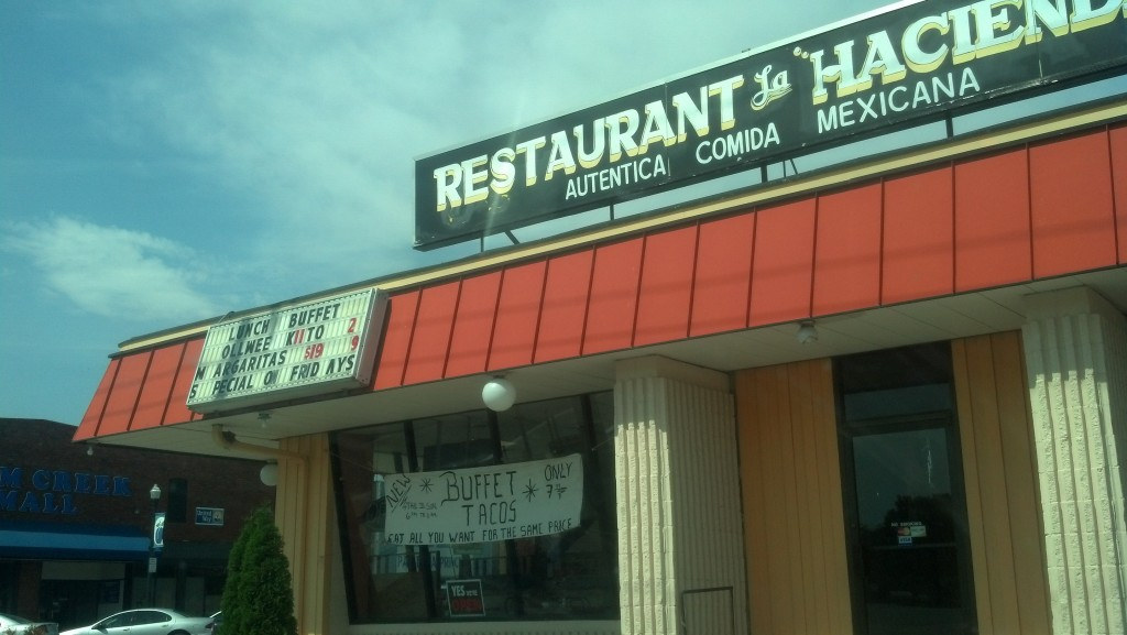 Lexington, Neb., is home to many restaurants and businesses catering to the local Latino population, which makes up 60 percent of the town's population. (Photo by Michael E. Grass)