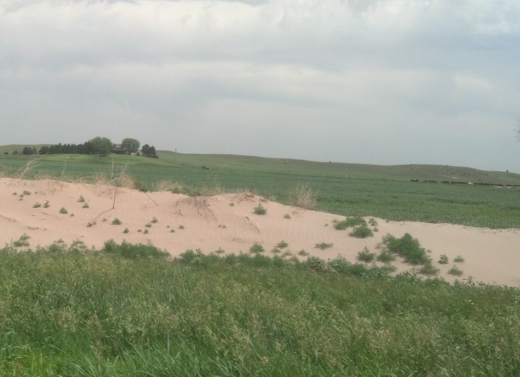 Nebraska's Sand Hills, off U.S. 30 (Photo by Michael E. Grass)
