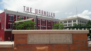 The Wrangler store sits in the center of Cheyenne, Wyo. (Photo by Michael E. Grass)