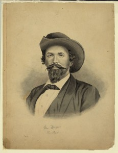 Confederate Brigader Gen. John Hunt Morgan (Library of Congress Prints and Photographs Division)