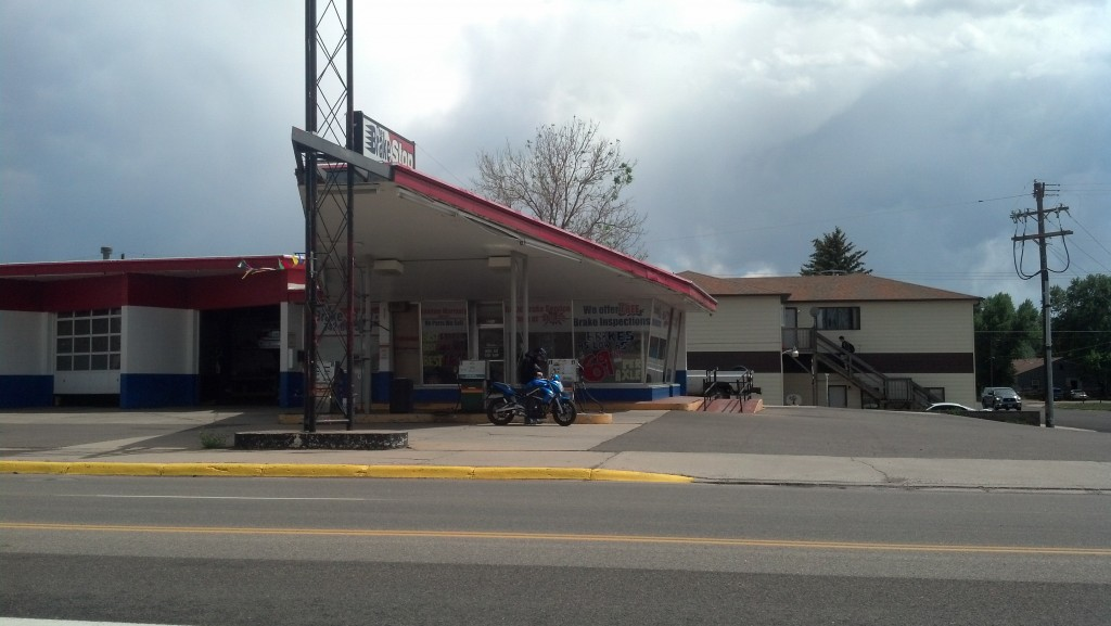 A cool old gas station. (Photo by Michael E. Grass)