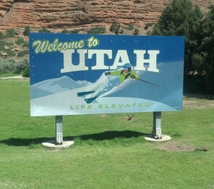 Welcome to Utah! (Photo by Michael E. Grass)