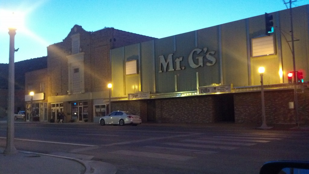 Mr. G's seems to have seen better days. (Photo by Michael E. Grass)