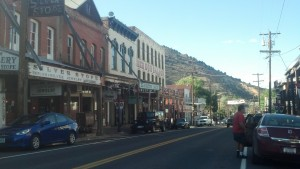 I drove through Virginia City, Nev., fairly quickly. Hopefully I'll stop off next time I'm passing through. (Photo by Michael E. Grass)